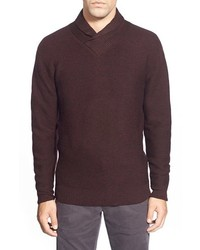 Isleworth shawl collar merino wool sweater medium 361241