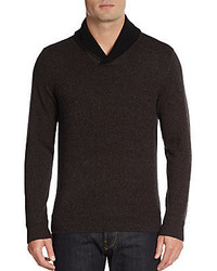 Saks Fifth Avenue Cashmere Shawl Collar Sweater