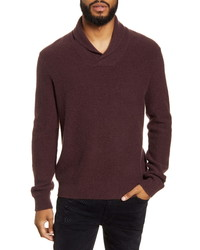Vince Shawl Collar Cashmere Sweater