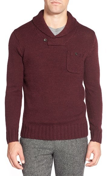 Bonobos Shawl Collar Pullover Sweater | Where to buy & how to wear