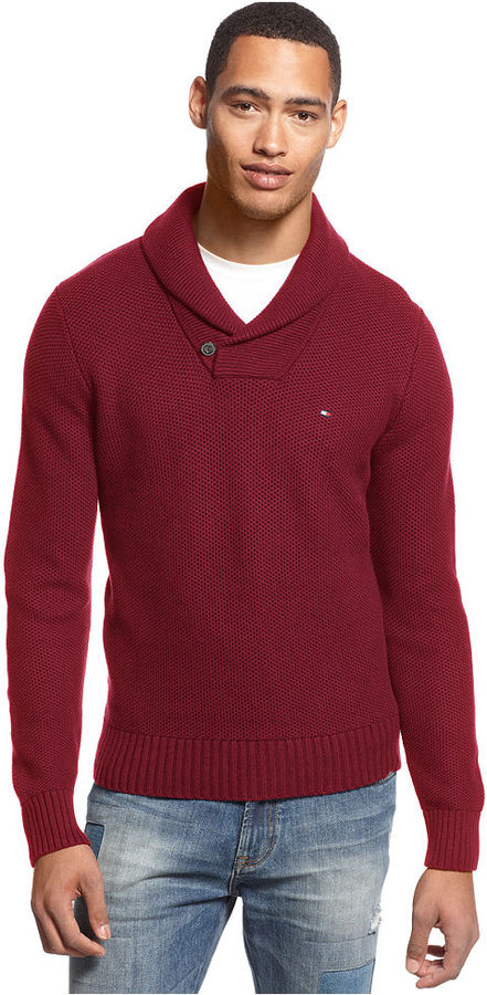Tommy Hilfiger Portland Shawl Collar Sweater