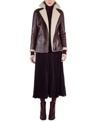 Akris Punto Genuine Shearling Jacket