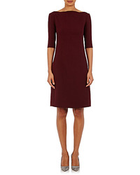 Nina Ricci Bateau Neck Shift Dress