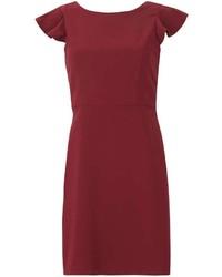 Izabel London Burgundy Shift Dress