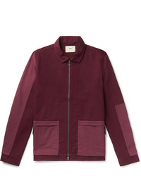 Burgundy Shirt Jacket