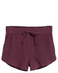 H&M Craped Shorts