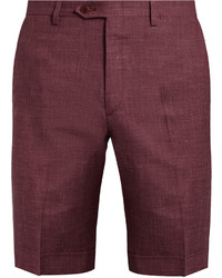 Brioni Wool Blend Slim Fit Shorts