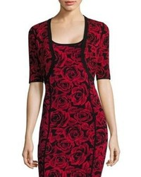 Michael Kors Michl Kors Collection Rose Jacquard Shrug