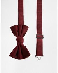 Asos Brand Silk Bow Tie