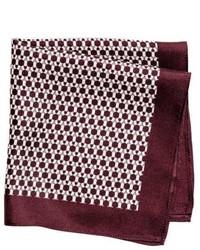 H&M Patterned Silk Handkerchief