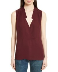 2359430a1627f Ashish Sequin Embellished Scoop Neck Sleeveless Silk Top Out of stock ·  Theory Classic Crossover Sleeveless Silk Top