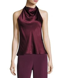 a39b9b64bb8e8 ... Cowl Neck Halter Top Maroon Cushnie et Ochs Silk Charmeuse Cowl Neck  Halter Top Maroon Out of stock · Ashish Sequin Embellished Scoop Neck  Sleeveless ...