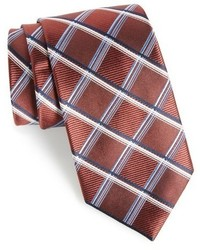 Nordstrom Shop Club Grid Silk Tie