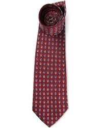 Vintage jacquard patterned tie medium 602182