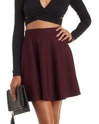 Ottoman Knit Skater Skirt