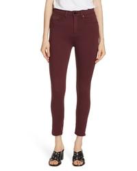 Rag & Bone Jean High Waist Ankle Skinny Jeans