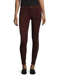Rag & Bone Jean Suede Skinny Jeans