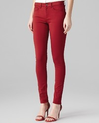 Reiss Jeans Skinny In Red