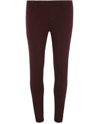 Dorothy Perkins Merlot Eden Ultra Soft Jeggings