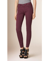 Burberry Skinny Fit Low Rise Power Stretch Jeans