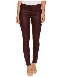 The leggings ankle in leatherette light deep currant casual pants medium 5211662