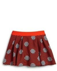 Burgundy Skirt