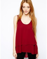Only Sleeveless Frill Top