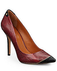 Aron snake embossed pumps medium 53452
