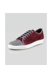 Burgundy Sneakers