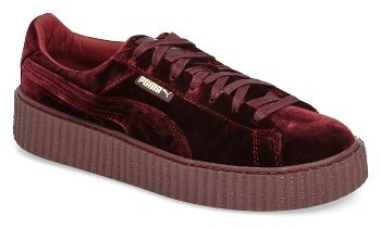 size 40 1c6bc c10af $149, Puma Fenty By Rihanna Velvet Creeper Sneaker