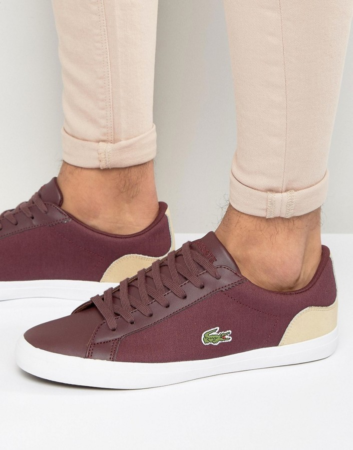 outlet for sale quality low cost $91, Lacoste Lerond Canvas Sneakers