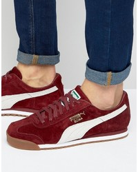Puma Roma Sneakers In Red 36354405