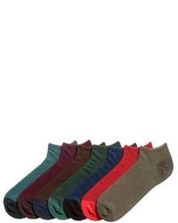 H&M 7 Pack Ankle Socks