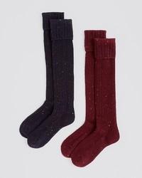 Hue Cable Turncuff Knee Socks