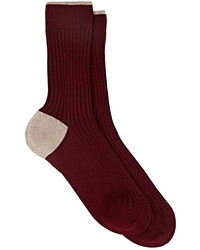 Maria La Rosa Cashmere Blend Mid Calf Socks