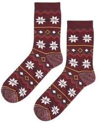 Christmas Fairisle Socks