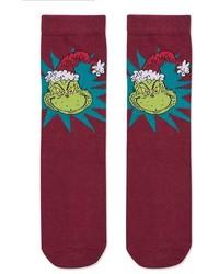 Christmas Grinch Socks