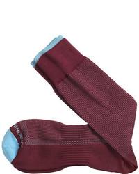 Johnston & Murphy Color Pin Dot Socks
