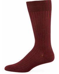 Pantherella Mid Calf Stretch Lisle Dress Socks