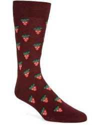 Mini strawberry crew socks medium 3685381