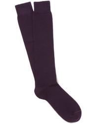 Loro Piana Stretch Cashmere Over The Calf Socks