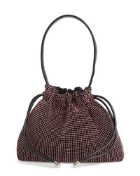 Topshop Dina Diamante Drawstring Bag