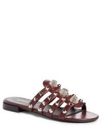 Balenciaga Studded Slide Sandal
