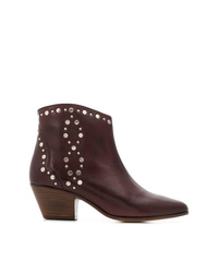 Isabel Marant Studded Western Low Boots