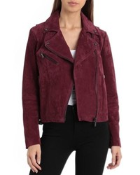 135612eb48 Burgundy Suede Jackets for Women
