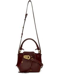 Red small owen bucket bag medium 5258396