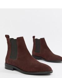 ASOS DESIGN Aura Suede Chelsea Ankle Boots