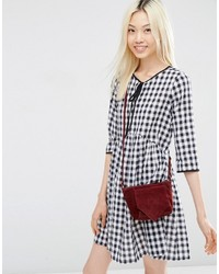 d7a511a0b Asos Festival Suede Cross Body Bag With V Front, $34 | Asos ...