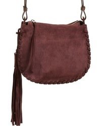 Mori suede crossbody bag medium 1027022