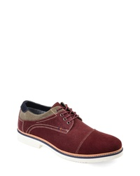 THOMAS AND VINE Kingston Cap Toe Derby